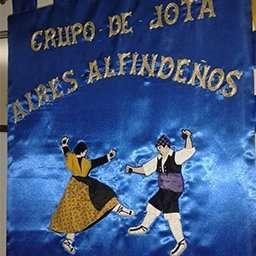 Estandarte Aires Alfindeños Jota