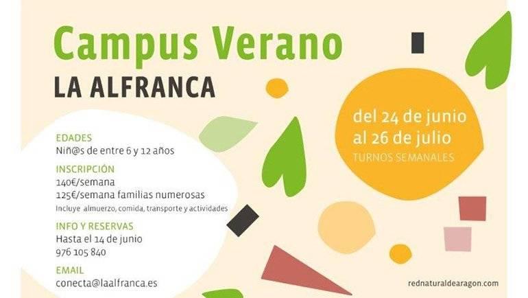 Vuelve el Campus de Verano de La Alfranca