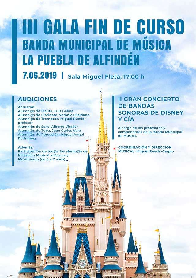 III Gala Fin Curso Banda