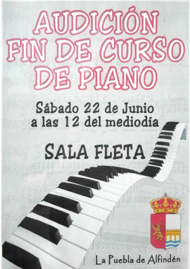 Audición Fin de Curso Piano