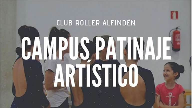El Club Roller Alfindén organiza un campus de patinaje artístico