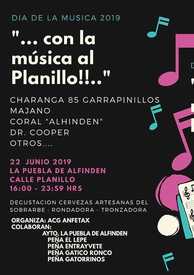 El Planillo acogerá la celebración del Día de la Música