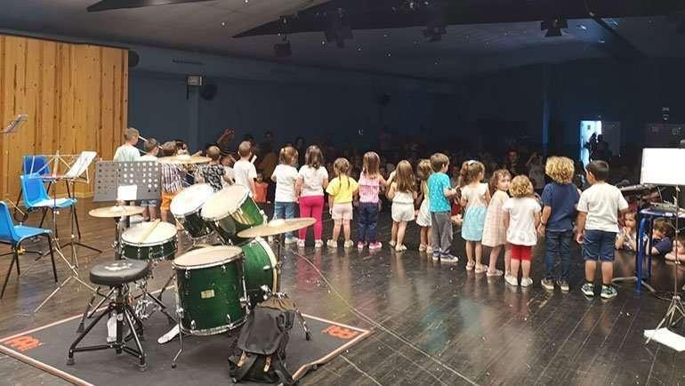 La Banda Municipal realizó una exhibición-concierto fin de curso