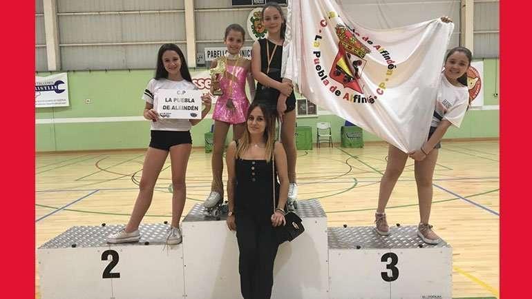 El Club Patín La Puebla de Alfindén participó en el IV Torneo Club Patín de Cuarte