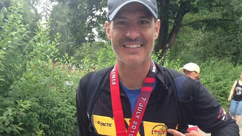 Daniel Muñoz completa el Ironman de Austria