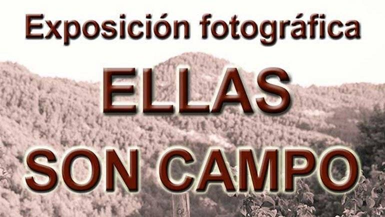 Exposición fotográfica 'Ellas son campo'