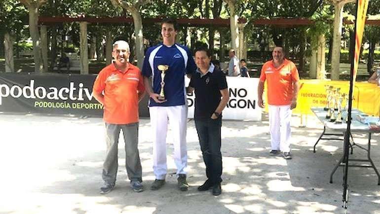 Gabriel Pardos, 1º en el XXXV Trofeo de San Lorenzo de Tiro de Barra Aragonesa