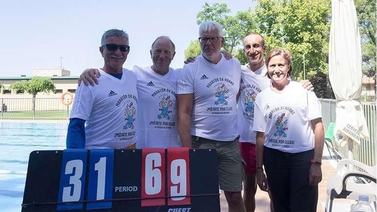 Maraton solidaria eclersosis La Puebla