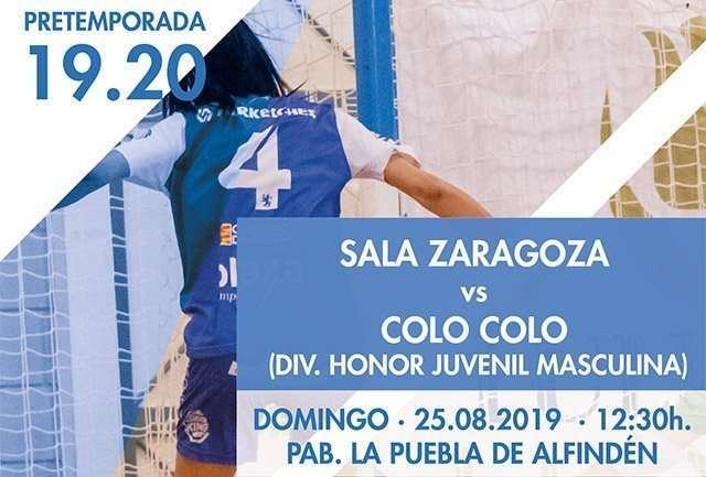 Preparación Sala Zaragoza 19/20 en La Puebla de Alfindén