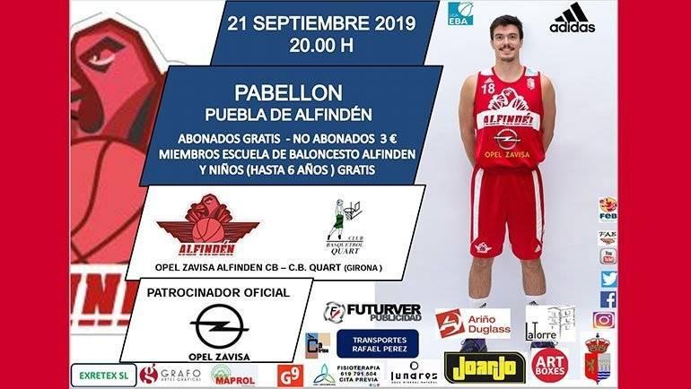 Este sábado arranca la Liga EBA en La Puebla de Alfindén