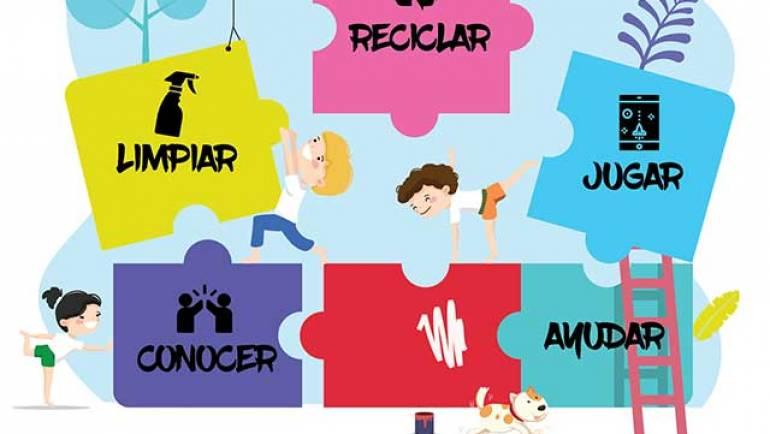 Los chicos y chicas del Consejo de Infancia y Adolescencia organizan una gymkana para concienciar a los alfindeños