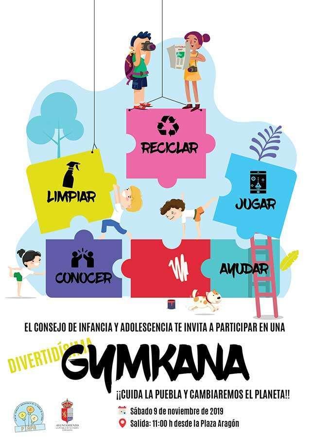 Gymkana Cuidemos La Puebla