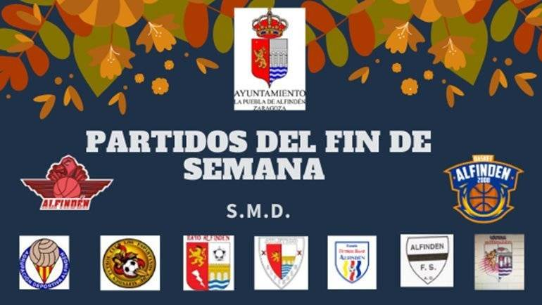 Partidos del fin de semana (26 a 27 octubre)