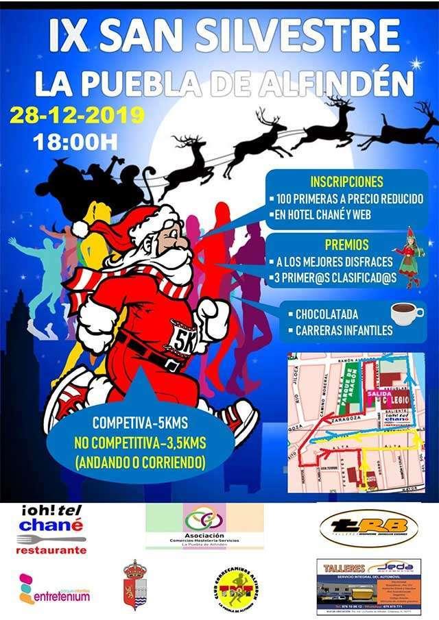 El Club Correcaminos Alfindén organiza la IX San Silvestre