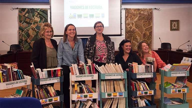 Beatriz Callén explicó en qué consiste el proyecto 'Vagones de Lectura' en Escúchate, de Aragón Radio