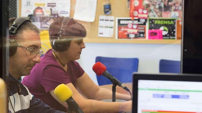Taller iniciación radio alumnos