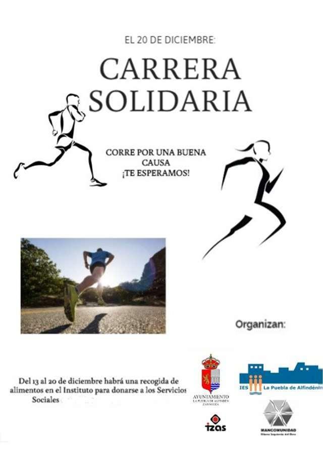 Carrera solidaria IES La Puebla