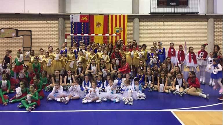 El C.P. La Puebla de Alfindén organizó su V Gala de Navidad