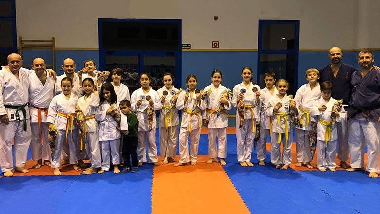 El Club Nihon Tai Jitsu Alfindén realiza una exhibición fin de curso