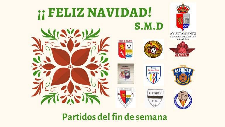 Partidos del fin de semana (21 al 22 de diciembre)