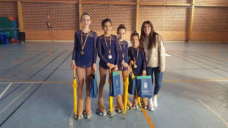 El Club Roller participó en el II Trofeo Agrupación de Patinaje Turiaso en Tarazona