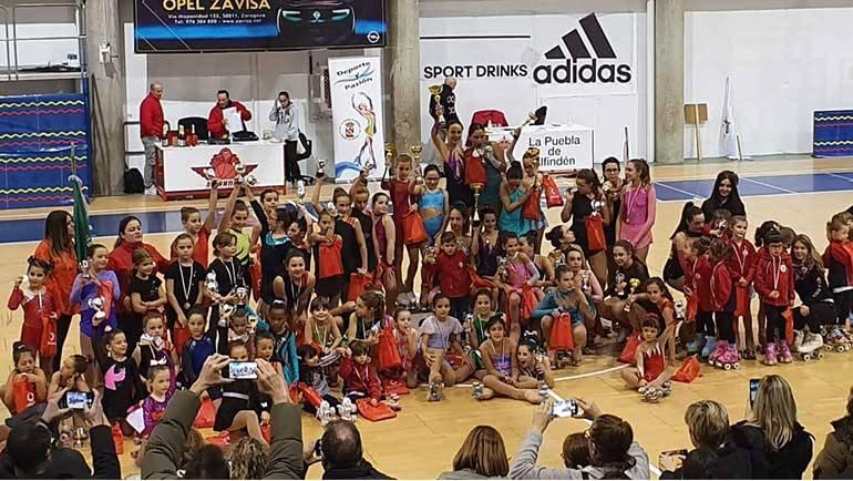 El CP. La Puebla de Alfindén celebra el I Torneo Interno de Navidad