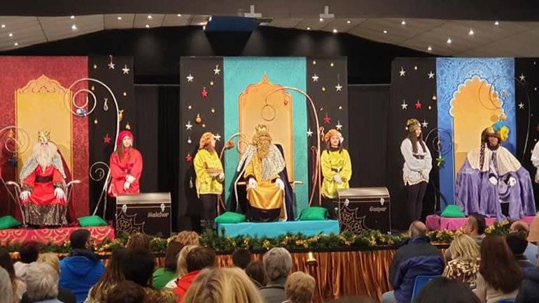 Gran participación y buen tiempo en la Cabalgata de Reyes