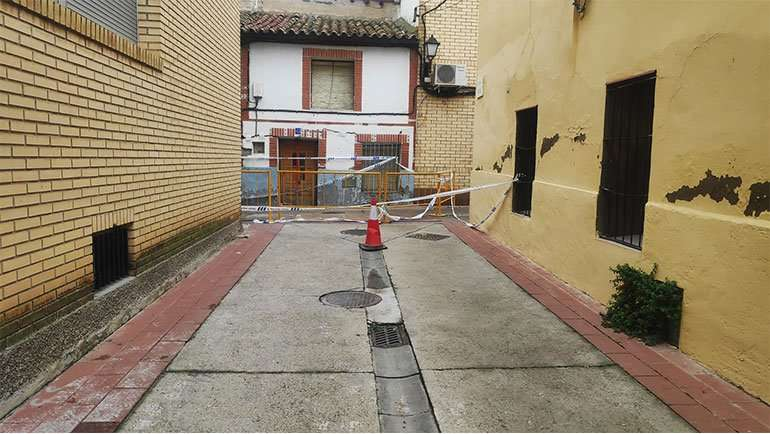 Corte Calle Alta La Puebla