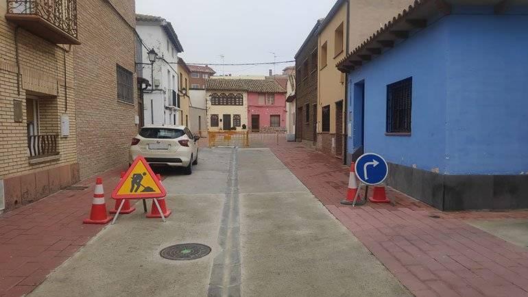 Continúan cortadas al tráfico las calles Alta y Planillo