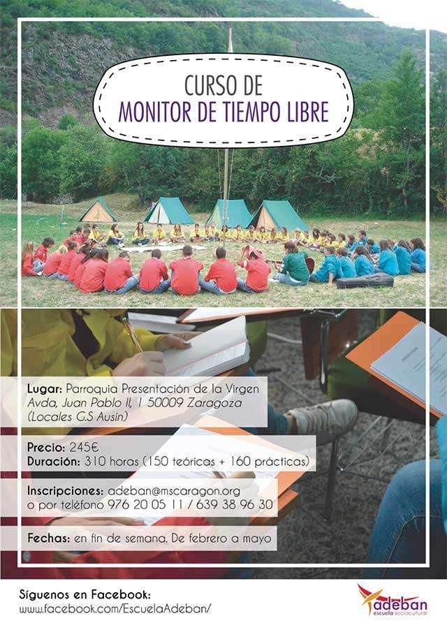 Curso Monitor Tiempo Libre La Puebla