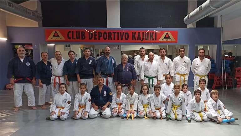 El Club Nihon Tai Jitsu Alfindén participó en el curso de Tanbo Jutsu