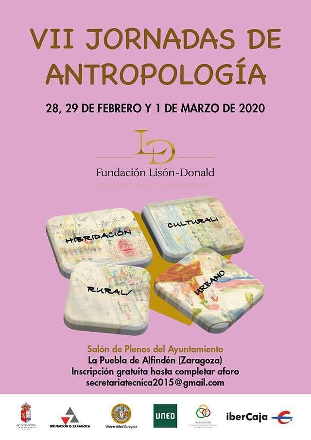 La Fundación Lisón-Donald y el Ayuntamiento de La Puebla organizan las VII Jornadas de Antropología