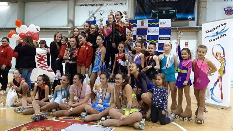 El Club Patín La Puebla organizó el V Torneo Interclubs 'San Valentín'