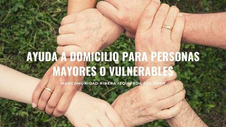 Servicio de Ayuda a Domicilio para personas mayores o vulnerables