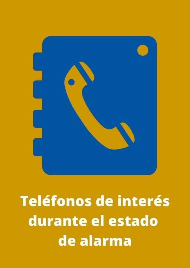 Teléfonos interés covid-19