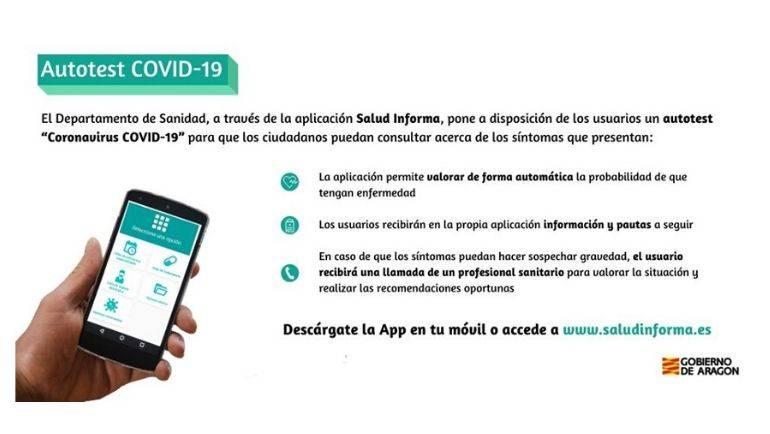 Salud Informa habilita el AUTOTEST COVID-19 para que los usuarios consulten sobre sus síntomas