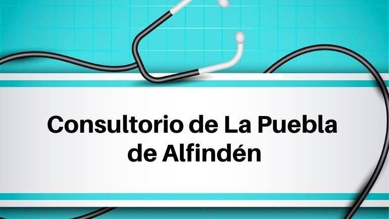 Información sobre asistencia médica en el Consultorio de La Puebla de Alfindén durante el estado de alarma