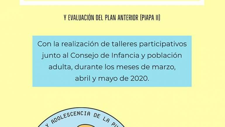 Proceso participativo para la elaboración del III Plan de Infancia y Adolescencia de La Puebla (PIAPA III) y evaluación del Plan anterior (PIAPA II)