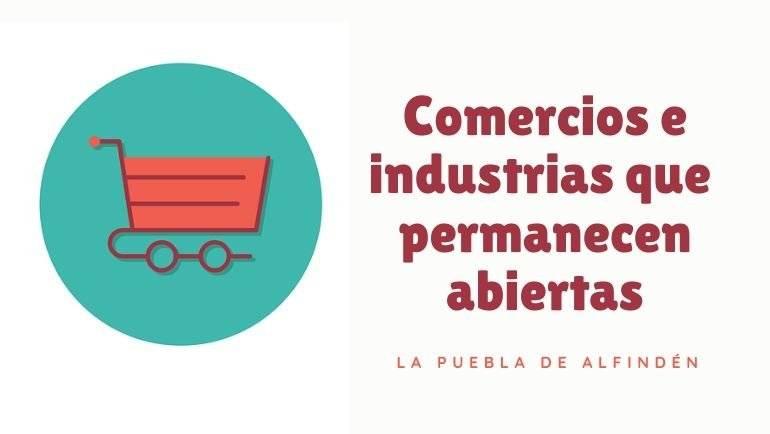 Los comercios y empresas de La Puebla nos cuidan más que nunca, garantizando el acceso a los productos que necesitamos