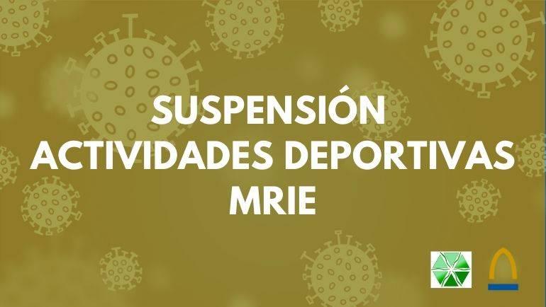 El Servicio Comarcal de Deportes suspende definitivamente las actividades deportivas municipales del curso 2019/20