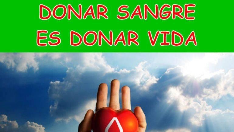 Ven a donar sangre