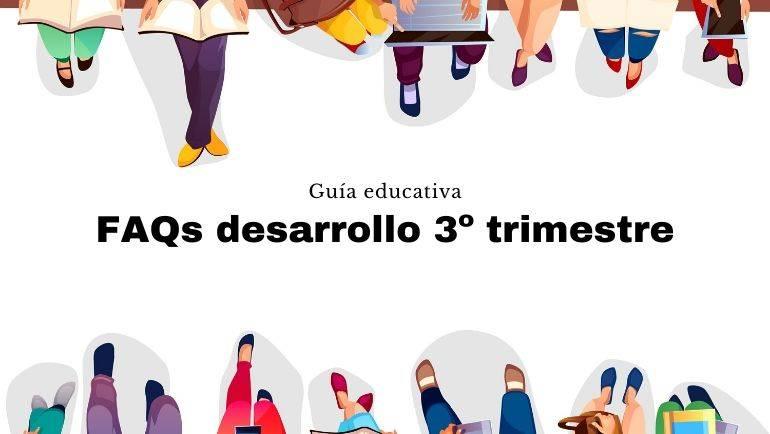 El Gobierno de Aragón elabora una guía de preguntas frecuentes sobre el desarrollo del 3º trimestre escolar