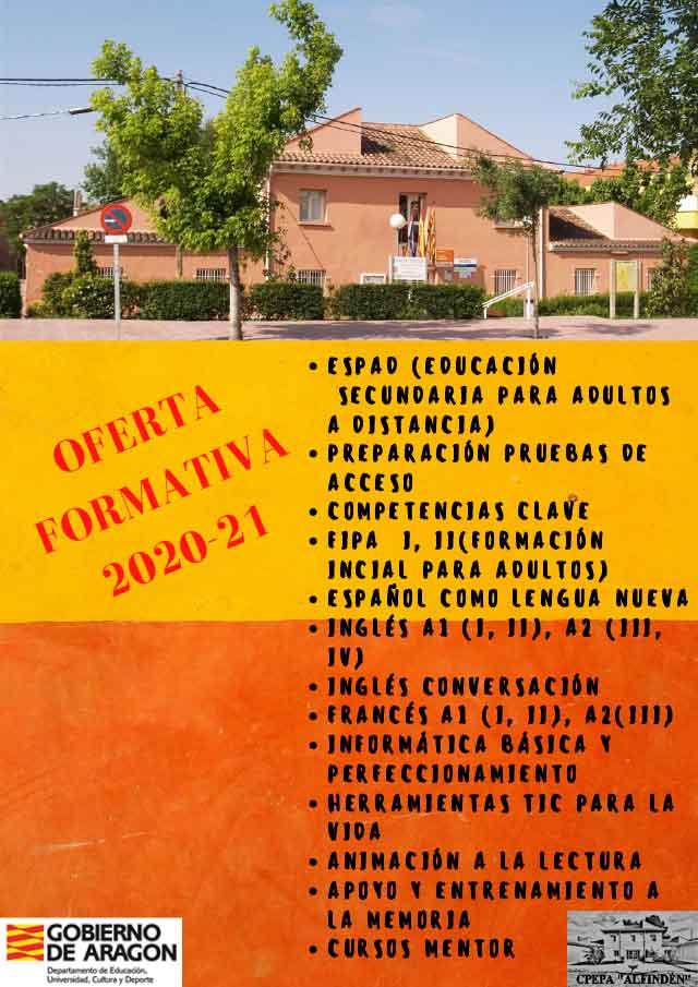 Oferta formativa adultos 2020/21
