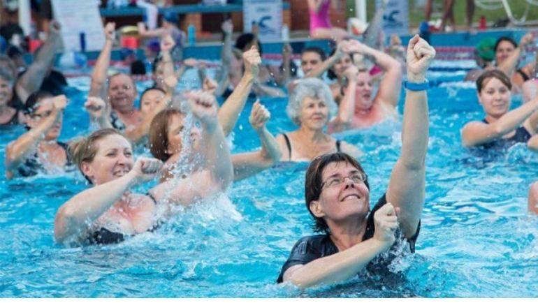 Cursos de aquagym verano 2020