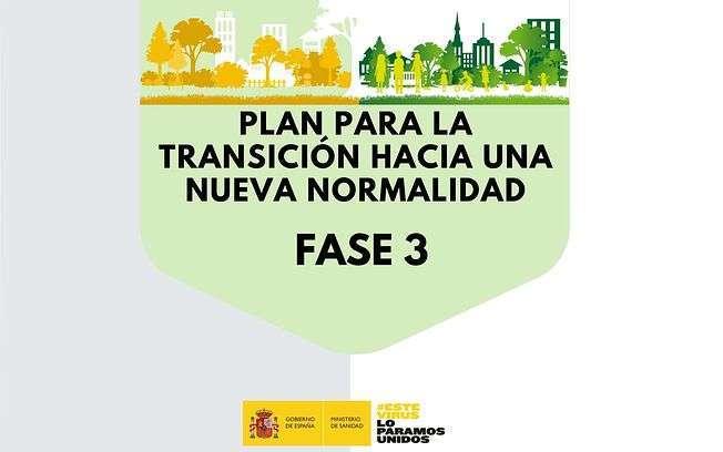 Guía fase 3 del Plan para la Transición hacia una Nueva Normalidad
