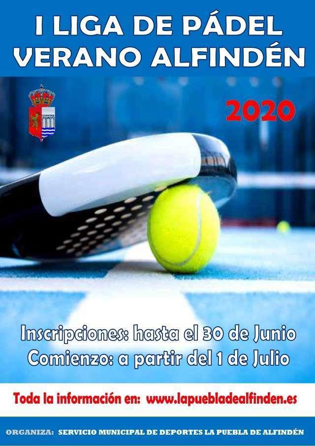 I Torneo Pádel Verano La Puebla de Alfindén