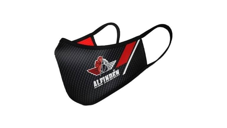 El Alfindén Club de Baloncesto pone a la venta mascarillas con el escudo