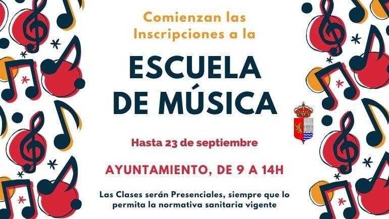 Se amplía el plazo de matrícula a la Escuela de Música 2020/2021
