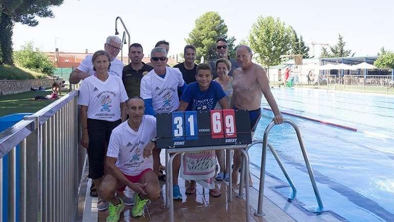 El Ayuntamiento suspende el maratón acuático contra la esclerosis múltiple, la actividad más solidaria de las Fiestas Patronales