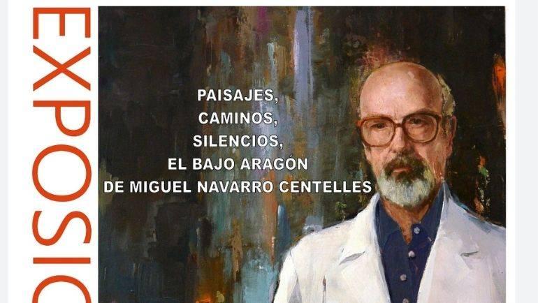 Exposición de pintura 'Paisajes, caminos, silencios, el Bajo Aragón', en La Alfranca